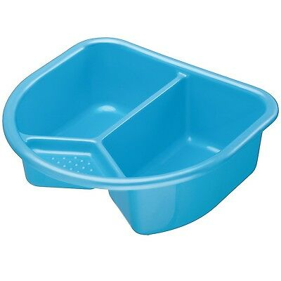 Rotho Baby Design Top and Tail Bowl Bath Wash Kid Child Bathroom Toilet Blue 909