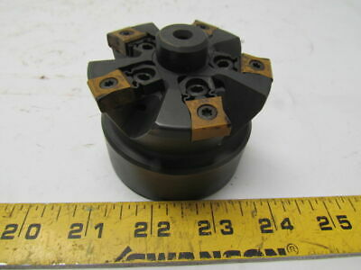 "Ingersoll PHA282A5R10 3"" Indexable 5 Tool Shell Mill 28mm Pilot Arbor"