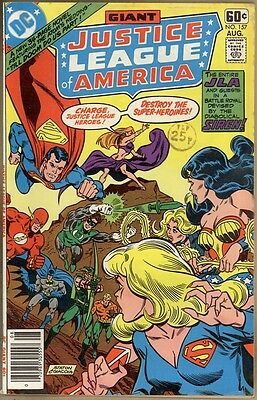Justice League Of America #157 - FN-