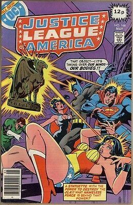 Justice League Of America #166 - FN/VF
