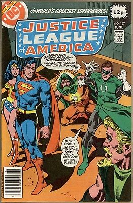 Justice League Of America #167 - VF-