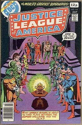 Justice League Of America #168 - VF