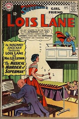 Superman's Girlfriend, Lois Lane #65 - G/VG