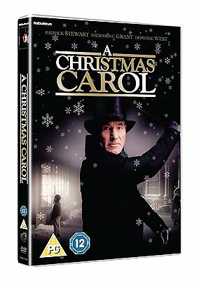 A Christmas Carol - DVD NEW & SEALED - Patrick Stewart, Richard E. Grant