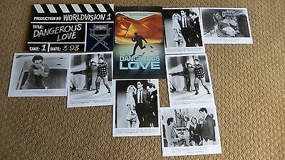 DANGEROUS LOVE MOVIE PRESS KIT anthony geary