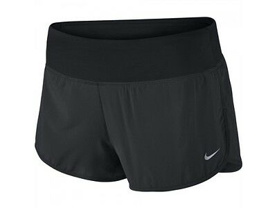 New Womens Nike Dri-Fit 2 Inch Rival Running Racing Fitness Shorts Size L 14