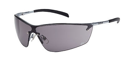 Bolle Silium Safety Glasses Spectacles - Smoke Lens - Anti Mist - SILPSF