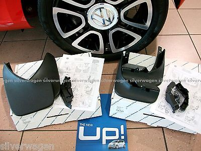 Genuine VW Up! Mudflaps Full Set **BRAND NEW** Front & Rear Mud Flaps