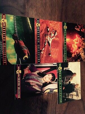 Babylon 5 – 1996 Skybox Series 2 Creator Collection Chase Cards (5 Of 10)