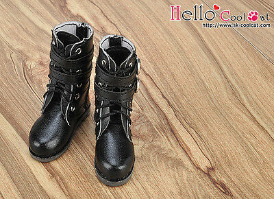 ☆╮Cool Cat╭☆ 【TY03-1】Taeyang Doll Boots # Black