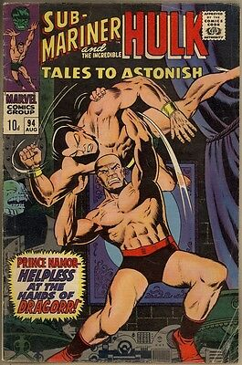 Tales To Astonish #94 - G/VG
