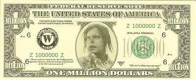 The Walking Dead - One Million Dollars - Collectible U.s. Currency Bill