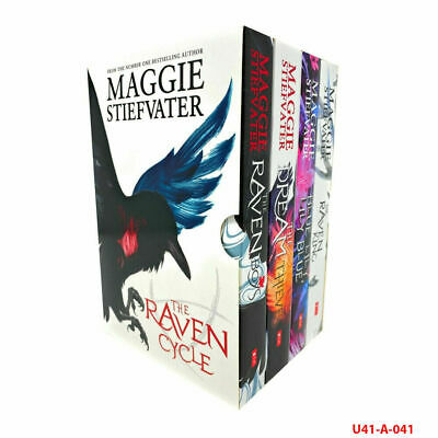 The Raven Cycle Series 4 Books Collection Box Set by Maggie Stiefvater PB NEW