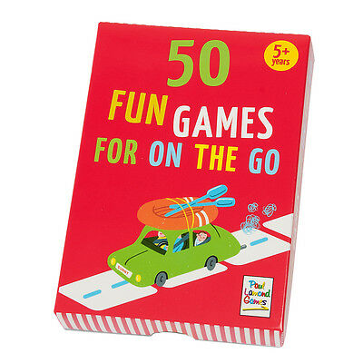 50 Fun Games For On The Go - Travel Games