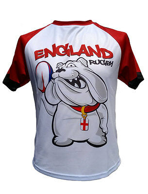 OLORUN ENGLAND SUPPORTERS Rugby Jersey White Red S-XXXXL - £18.00 ... e8072283e