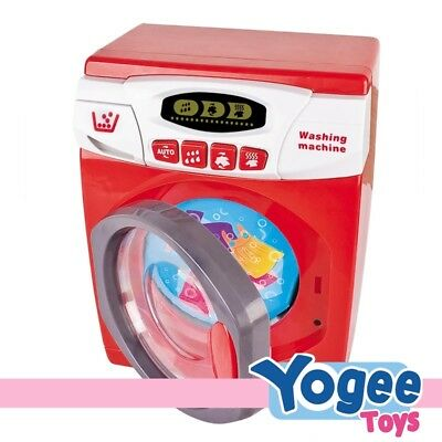 Pretend Play Battery Operated Washing Machine