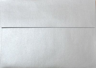 """A7 Envelopes (5.25""""x7.25"""" for 5x7 cards) - Silver"""