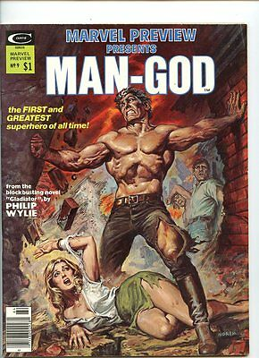 Marvel Preview Presents #9 (1975 Series) Man-God NM- 9.2