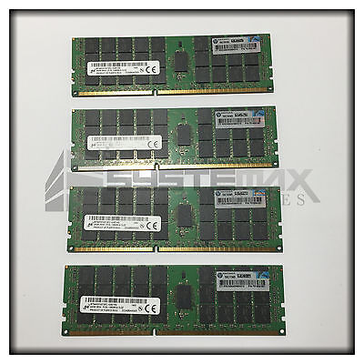 HP 96GB (4x24GB) 3Rx4 PC3L-10600R LV Memory Kit for BL460c Gen8 707404-B21