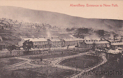 * ABERTILLERY - Entrance to New Park