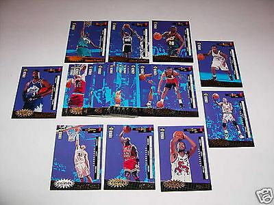 Crash the Game Series 2 Insert Set of 30 Cards '96 1996-97 NBA Jordan Malone MJ