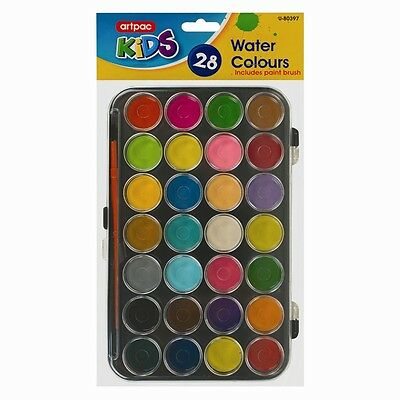 28 Watercolour Art Paint Set with Brush and Case Palette / Painting Artist