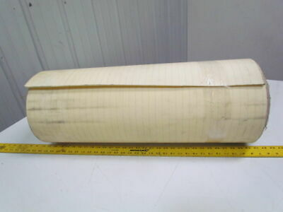2 ply smooth top Clear/White urethane rubber conveyor belt 41ft x 29""