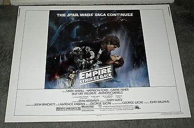 THE EMPIRE STRIKES BACK Original ROLLED 1980 Style A 22x28 movie poster