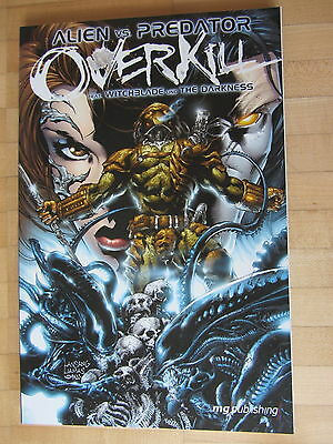 Aliens vs Predator Overkill- Witchblade, Darkness  Paperback MG Publishing