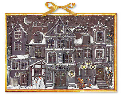 A Christmas Town Huge Traditional German Coppenrath Advent Calendar  52 x 38 cm