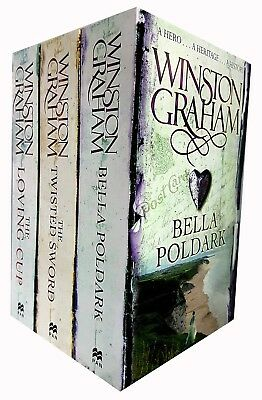 Winston Graham Poldark Series Trilogy Books(10 to 12)Collection 3 Books Set NEW