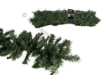 2 Metre x 30cm Luxury Pine Garland Tips Mantle Fire Place Fireplace Christmas