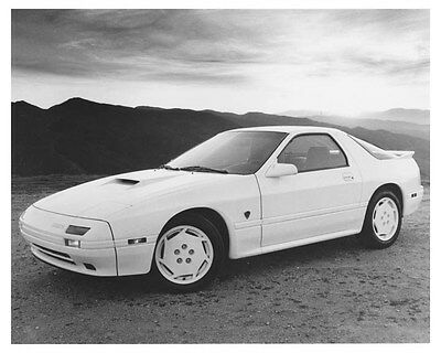 1988 Mazda RX7 Automobile Photo Poster zch8702