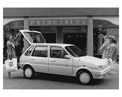 1988 Austin Metro Limited Edition Automobile Photo Poster zch8800