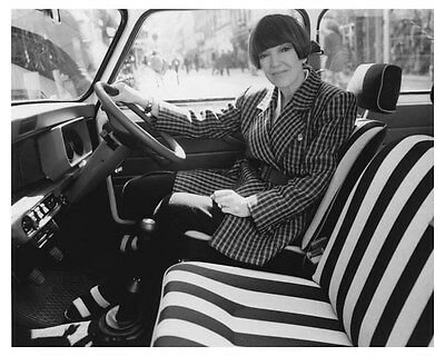 1988 Austin Mini Limited Edition Mary Quant Photo Poster zch8802