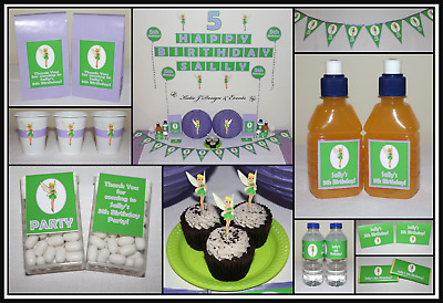 ** TINKER BELL Girls Birthday Party Decorations Supplies TINKERBELL Pixie **