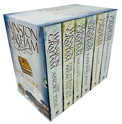Poldark Collection 6 Books Set Bella Poldark,The Angry Tide By Winston Graham