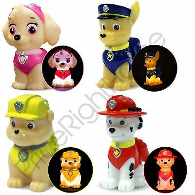 Paw Patrol Illumi-Mates Colour Changing Led Lights - Chase Rubble Skye Marshall