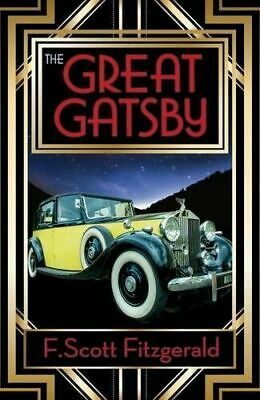 The Great Gatsby book By F. Scott Fitzgerald paperback Brand New