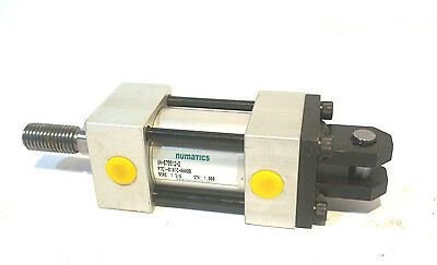 "NEW NUMATICS SNEQR-11A1E-C1A2 Pneumatic Air Cylinder 11/"" Stroke 4/"" Bore"