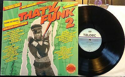 KLP122 - V.A. - That's Funk (26.25 635) German LP + Sticker on Front, teldec