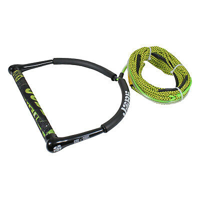 JOBE GURU HANDLE & 70ft SPECTRA MAINLINE SKI WAKEBOARD KNEEBOARD ROPE