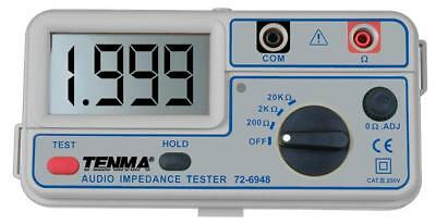 Digital Audio Speaker Impedance Tester