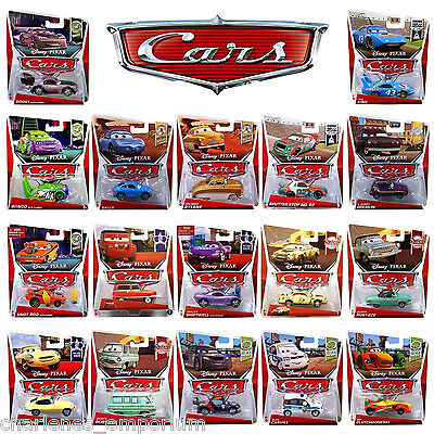 Disney Pixar Cars 1 & 2 Diecast collection characters Rare Chase Vehicle NEW