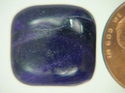 BUTW Genuine African Sugilite 11.9 ct Rectangle Cabochon Lapidary Gemstone 9975K