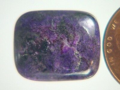 BUTW Genuine African Sugilite 9 ct Rectangle Cabochon Lapidary Gemstone 9982K