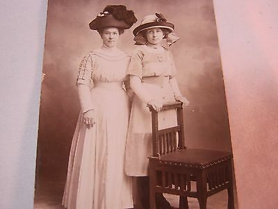 Real Photo Arts & Crafts Chair Antique Postcard   T*