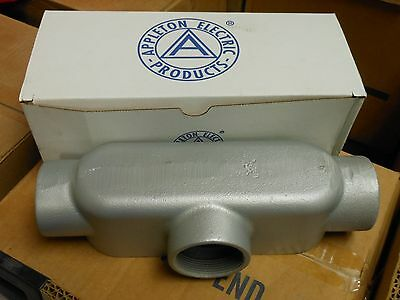 "APPLETON 2"" MALL IRON FORM 35 UNILETS CONDUIT T200-M NEW In Box"