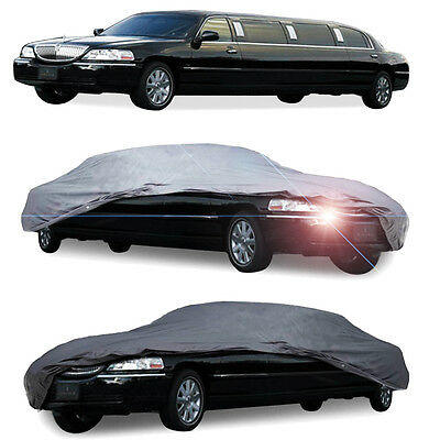 Full Auto Cover for Limousine LIMO WaterProof In Out Door Dust UV Ray Rain Snow