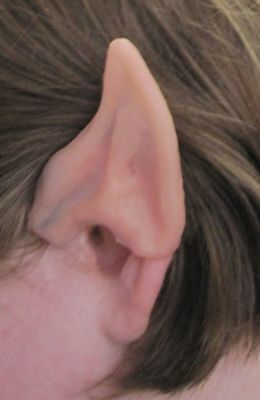Elf Ears Pointed Ear Tips Alien Spock Costume Accessory Fairy Pixie Hobbit
